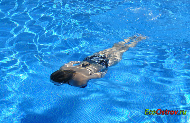 Плавание - прекрасное средство для похудения и оздоровления организма